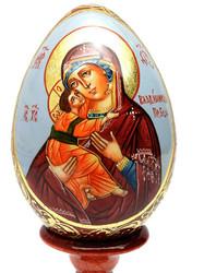 Vladimirskaya Icon of the Mother of God (Владимирская икона Божией Матери) Easter Egg