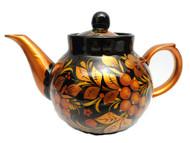 Porcelain Khokhloma Teapot