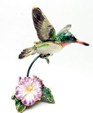 Hummingbird Jewelry Box