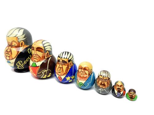 Yeltsin with Communist Leaders