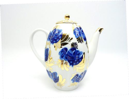 Golden Garden Coffee Pot