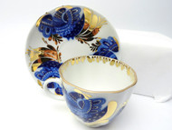 Golden Garden Coffee Cup and Saucer