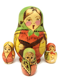 Balalaika Maiden Counting Toy