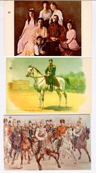 Vintage Postcards of Tsar Nicholas II