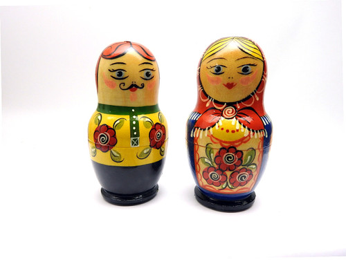 Salt and Pepper Boy and Girl from Sergiev Posad