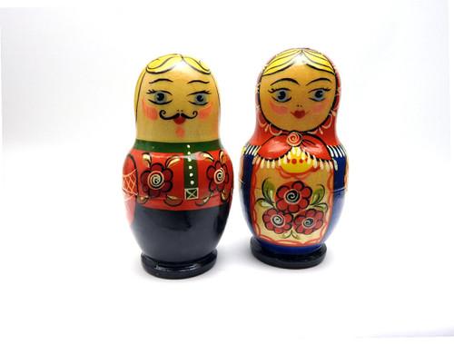 Sergiev Posad Matryoshka Salt and Pepper Set