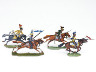 War of 1812 Russian Army Tin Soldiers on Horseback