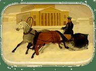 Droshky Miniature Painting