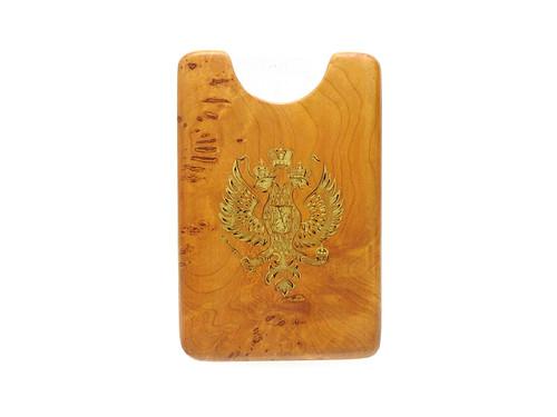 Karelian Birch Card Holder