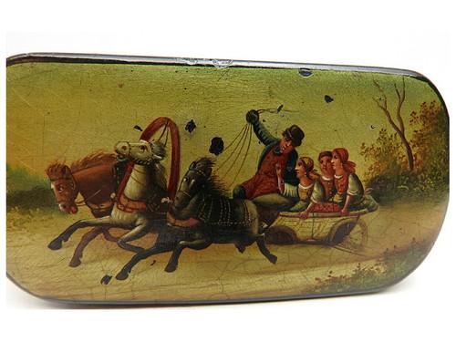 Summer Troika Snuffbox circa 1850