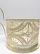 "Vintage Tea Glass Holder ""Filigree Swag"""