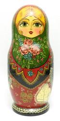 Sergiev Posad Traditional Maiden Artistic Matryoshka