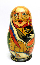 Russian Army of 1812 Artistic Matryoshka Doll