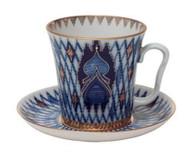 Kizhi Coffee Mug and Saucer