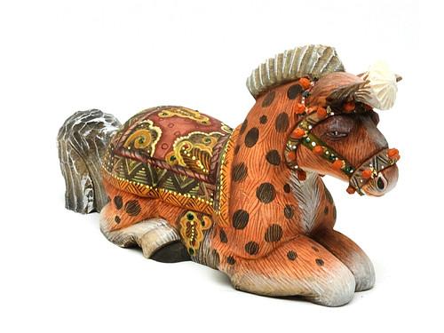 Horse Studio KIKIN Carved Figure