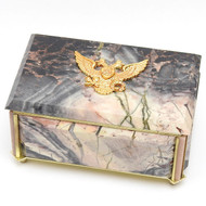 St. George Imperial Russian Eagle Jewelry Box