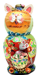 Sergiev Posad Cat Family Matryoshka