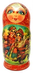 The Firebird (Жар-птица) Artistic Matryoshka Doll