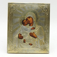 Vladimir Mother of God Antique Russian Orthodox Icon