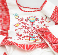 Table Runner with Apron