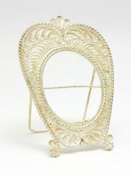 Filigree Small Oval Frame