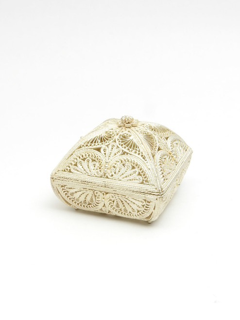 Filigree Heart Jewelry Box