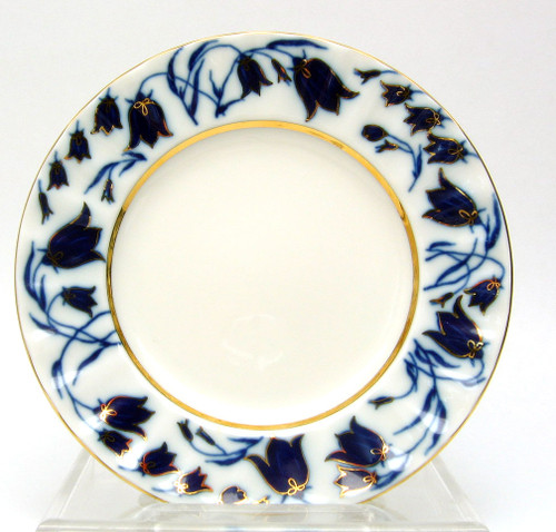 Blue Bells Dessert Plate