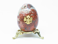Imperial Russian Eagle Egg Maroon