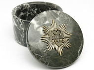 Black Marble Russian Eagle Box