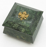 Ural Mountains Serpentine Jewelry Box *2