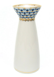 "Cobalt Net Flower Vase ""Youth"""