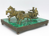 Russian Bronze Figural Group
