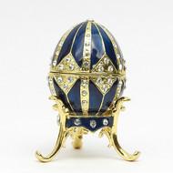 """Mini Royal Blue Egg Box [2½""""]"""