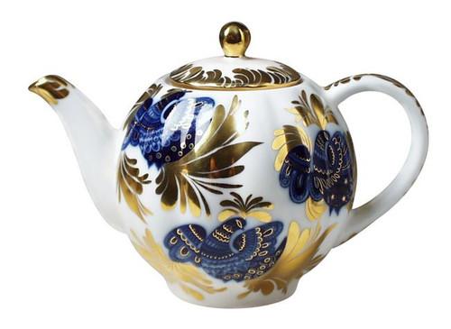 Golden Garden Large 9-cup Teapot
