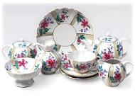 Greenhouse Tea Set from Lomonosov