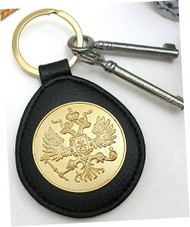 Russian Eagle Key Ring