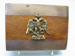 Brass Overlay Box