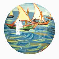 Sailing Boats [Van Gogh]