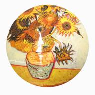 Vase with Sunflowers [Van Gogh]