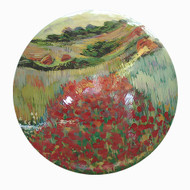 Poppies in a Hollow [Claude Monet]