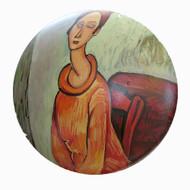 Amedeo Modigliani *Jeanne con Jersey
