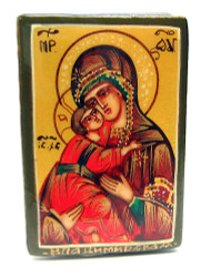 Virgin of Vladimir Icon Box