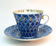 Forget-me-not Teacup and Saucer