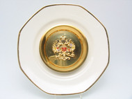 Russian Eagle Decorative Plate