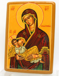 Nurturing Mother of God Icon Galaktotrophousa