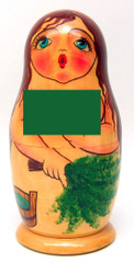 """Bathhouse Maidens"" Russian Nesting Doll"