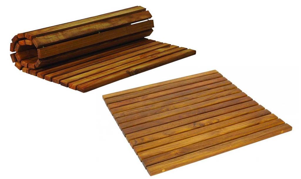 SeaTeak 60020 String Mat, Oiled Finish