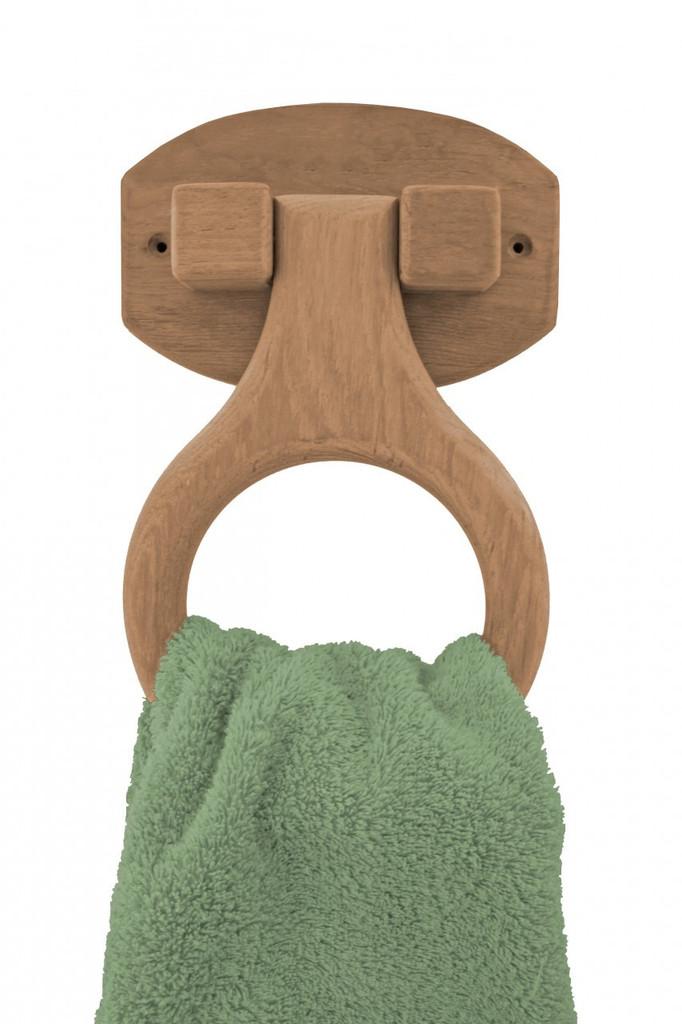 Teak Towel Ring