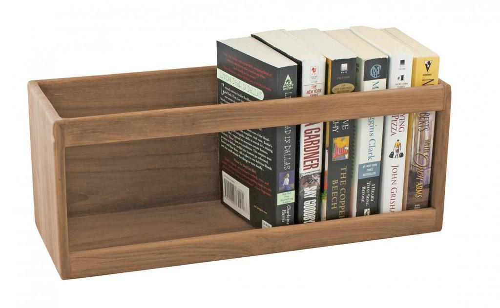 Teak Paperback Book Rack
