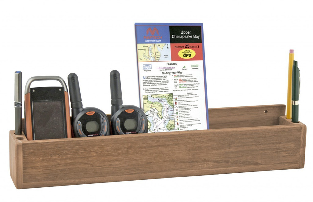 Teak Navigation Tray